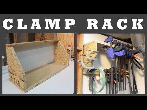Clamp Rack     Simple Dual Shelf
