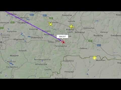 Mas 17 Malaysia Airline Crash FlugRadar24.live