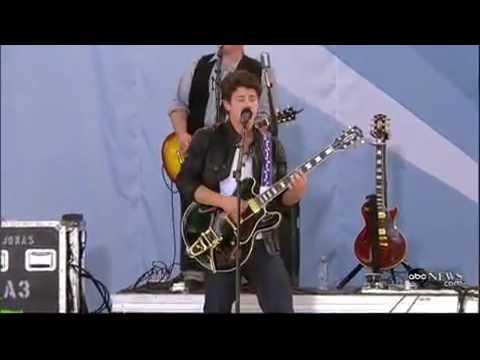 Jonas Brothers LA Ba  Good Morning America