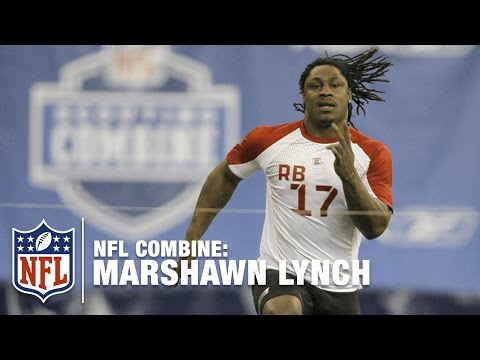 Marshawn Lynch (UC Berkeley, RB) | 2007 NFL Combine Highlights