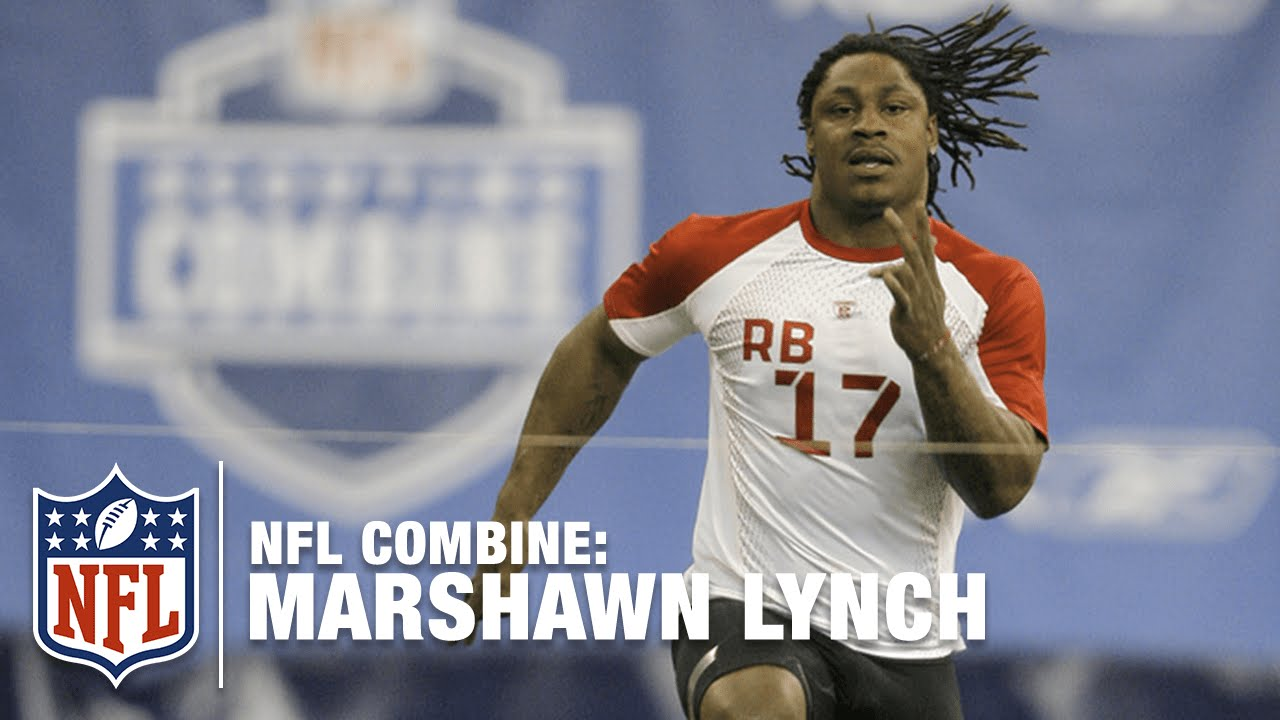 Marshawn Lynch UC Berkeley RB 2007 NFL Combine