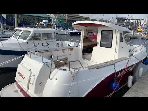 Arvor 250as Fishing Boat