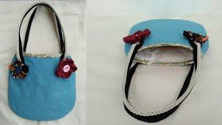 #DIY Small bag|tutorial form scratch|คลิปสั้น|รัชนี งานผ้า handmade