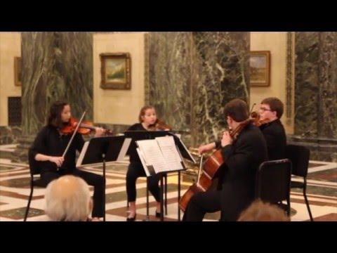 Mozart String Quartet No. 23 in F Major, Penn Quartet