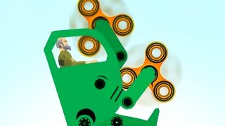 FIDGET SPINNER DEATHMACHINE! (Happy Wheels #90)