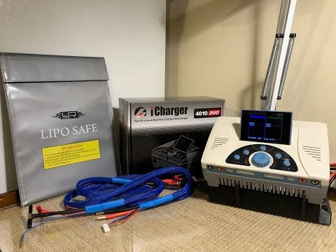 RL power supply and icharger 4010 duo unboxing