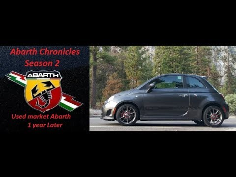 Used Market Abarth 500 1 year later review Season 2 episode 1