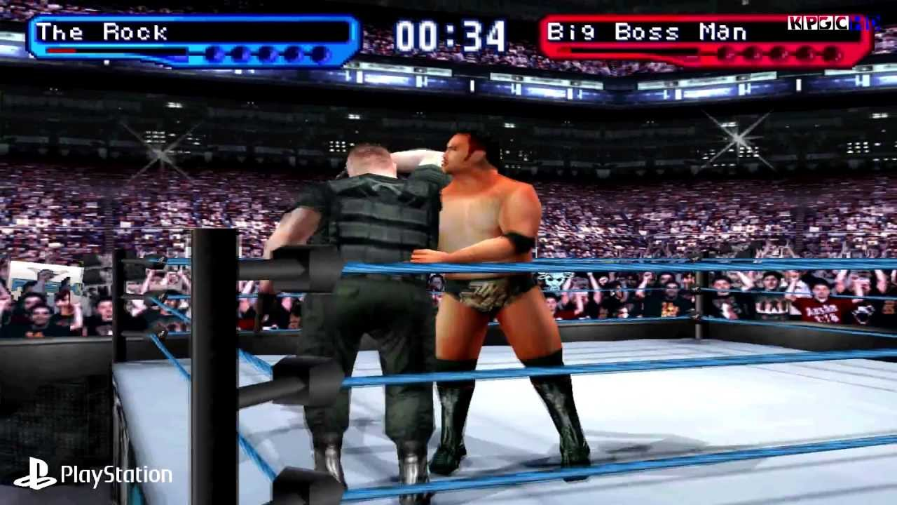 Image result for wwf smackdown gameplay