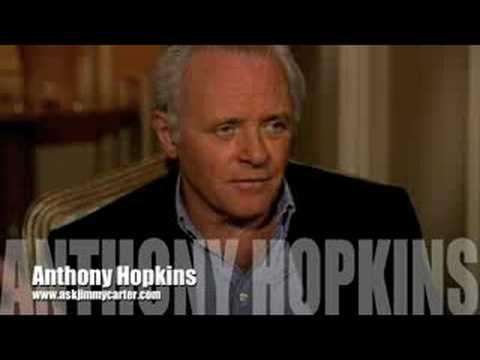 Anthony Hopkins:Picasso... interview with Jimmy Carter