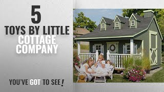 Top 10 Little Cottage Company Toys [2018]: Little Cottage Company Pennfield DIY Playhouse Kit, 11' x