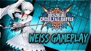Weiss Schnee Gameplay Showcase & Reaction | Blazblue Cross Tag Battle thumbnail