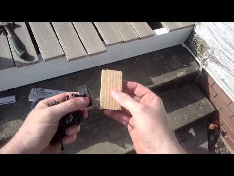 How to install composite deck boards pvc vinyl decking for How to install decking
