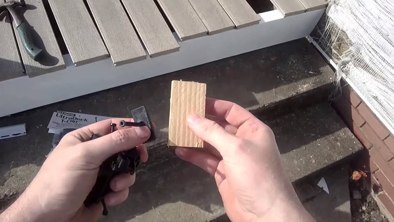 How To Install Composite Deck Boards Pvc Vinyl Decking