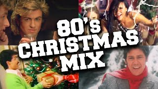 Christmas Songs of the 80s Mix 🎄 Best 1980s Christmas Music With Lyrics