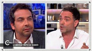 Règlement de compte entre Yann Moix et Patrick Cohen chez C à vous - 13/05/2015