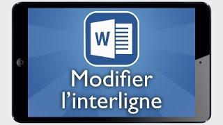 Tutoriel Word iPad - Modifier l