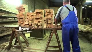 видео изготовление деревянных лестниц