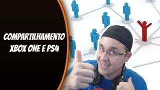 COMPARTILHAR JOGOS COM VÁRIOS AMIGOS ! (PS4 e XBOX ONE)