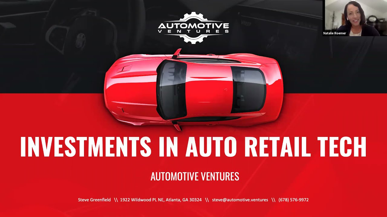 Steve Greenfield, Automotive Ventures, and Motive Retail's Webinar Series