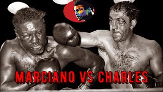 Rocky Marciano vs Ezzard Charles #Legendary Night# HD