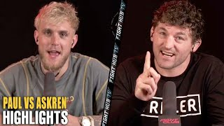 HIGHLIGHTS - JAKE PAUL VS BEN ASKREN FINAL PRESS CONFERENCE