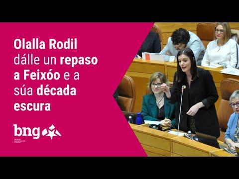 """Olalla Rodil a Feixóo: """"Non hai auga que lave a súa incompentencia"""""""