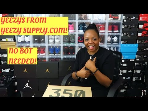 HOW TO COP YEEZYS!!! (NO BOT!) FROM YEEZY SUPPLY!!!!!