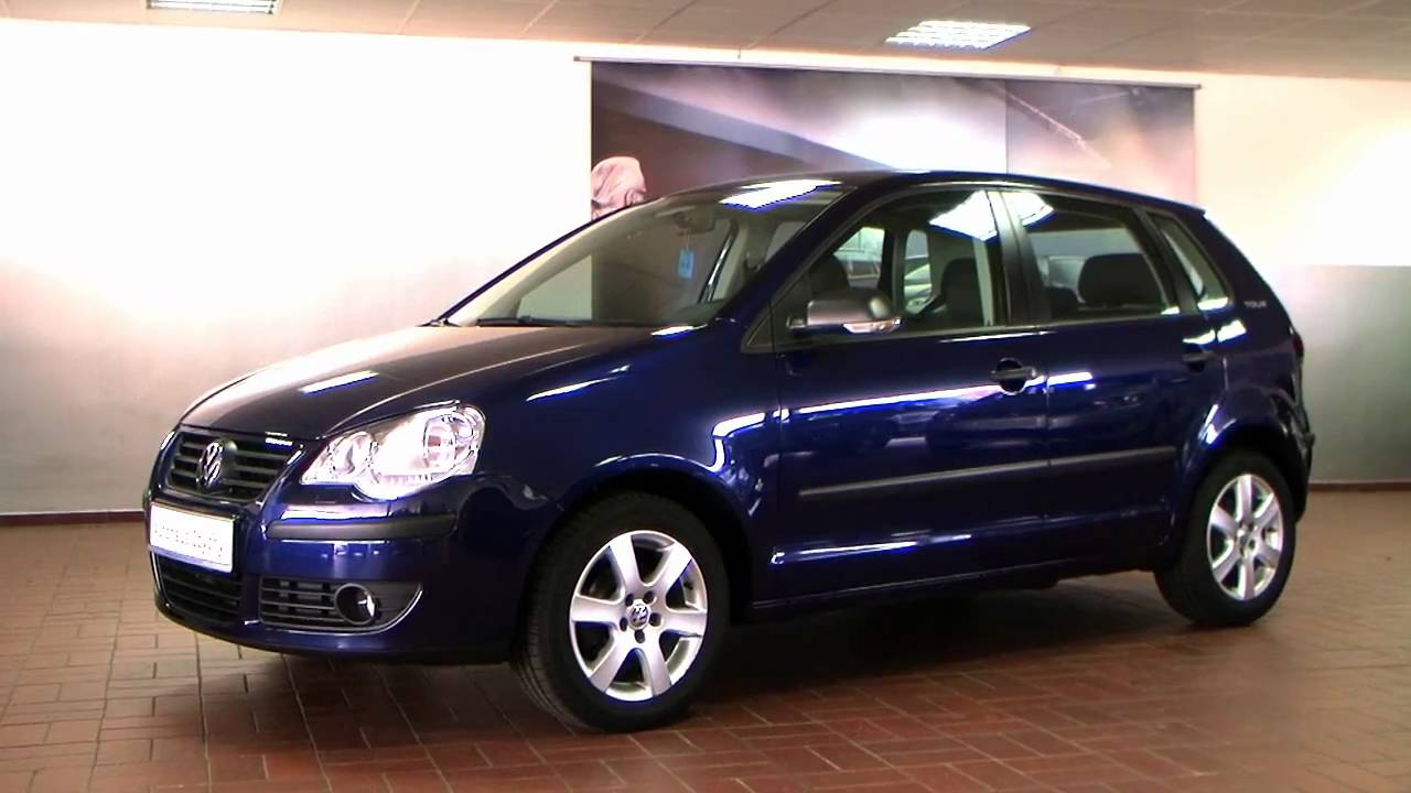 volkswagen polo 1 2 tour 2007 olympiablau metallic 8d005662 youtube. Black Bedroom Furniture Sets. Home Design Ideas