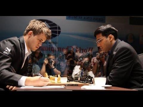 Матч Ананд - Карлсен. 5 партия матча за звание чемпиона мира по шахматам