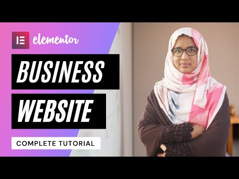 How to Make A Business Website using Wordpress & Elementor for FREE