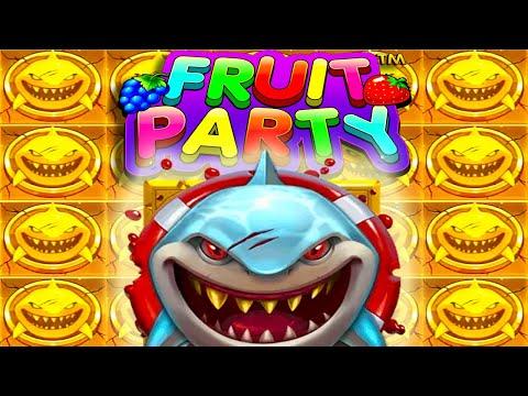 RAZOR SHARK 🦈 AND FRUIT PARTY 🍎 MEGA BIG WINS 😱 BACK TO BACK GOLD COINS LIVE STREAM HIGHLIGHTS‼️