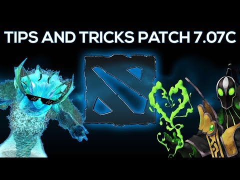 Dota 2 NEW Patch 7.07c Tips and Tricks