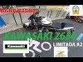 KAWASAKI Z650 A2!! - Una vuelta por el centro de Madrid || DroLan Mototests