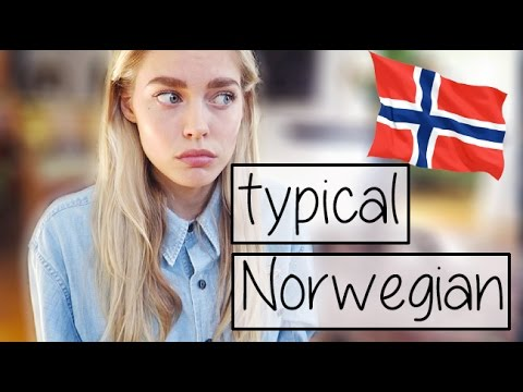Typical Norwegians -