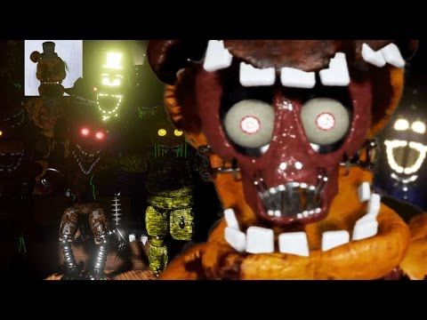 PLAY AS THE ANIMATRONICS!    Shadow of Your Nightmare Gameplay (Five Nights at Freddys)