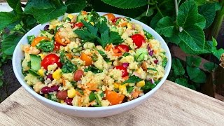 One of thrivingonplants's most viewed videos: COUSCOUS SALAD RECIPE