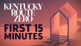 First 15 Minutes Of Kentucky Route Zero: TV Edition Gameplay