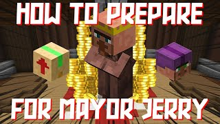 How To Prepare f๐r Mayor Jerry in Hypixel Skyblock - Hypixel Skyblock Money Making Method