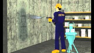 ПЕНЕТРОН - применение(Видео о том, как наносить гидроизоляцию Пенетрон. Купить гидроизоляцию Пенетрон по выгодным ценам можно..., 2013-08-08T07:50:54.000Z)