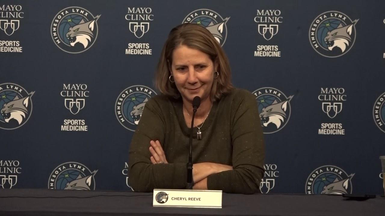 2019 Pre-Draft Availability | Cheryl Reeve