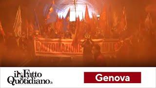 """Leonardo, lavoratori in corteo a Genova contro la dismissione dell'Automazione: """"Scelta scellerata"""