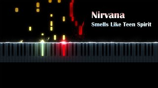 Nirvana - Smells Like Teen Spirit (piano cover by ustroevv) видео