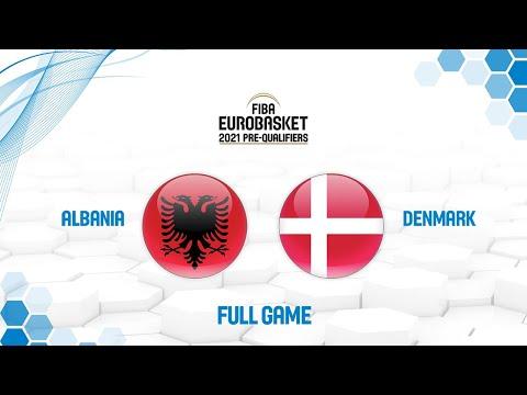 Albania v Denmark - Full Game - FIBA EuroBasket 2021 Pre-Qualifiers