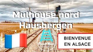 Mulhouse - Hausbergen en BB 37000 SNCF Fret