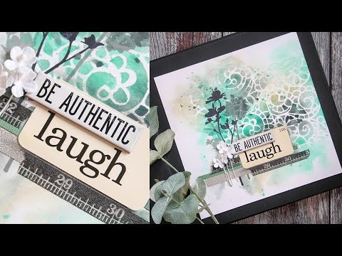 Art Journaling with Shari Carroll: Be Authentic