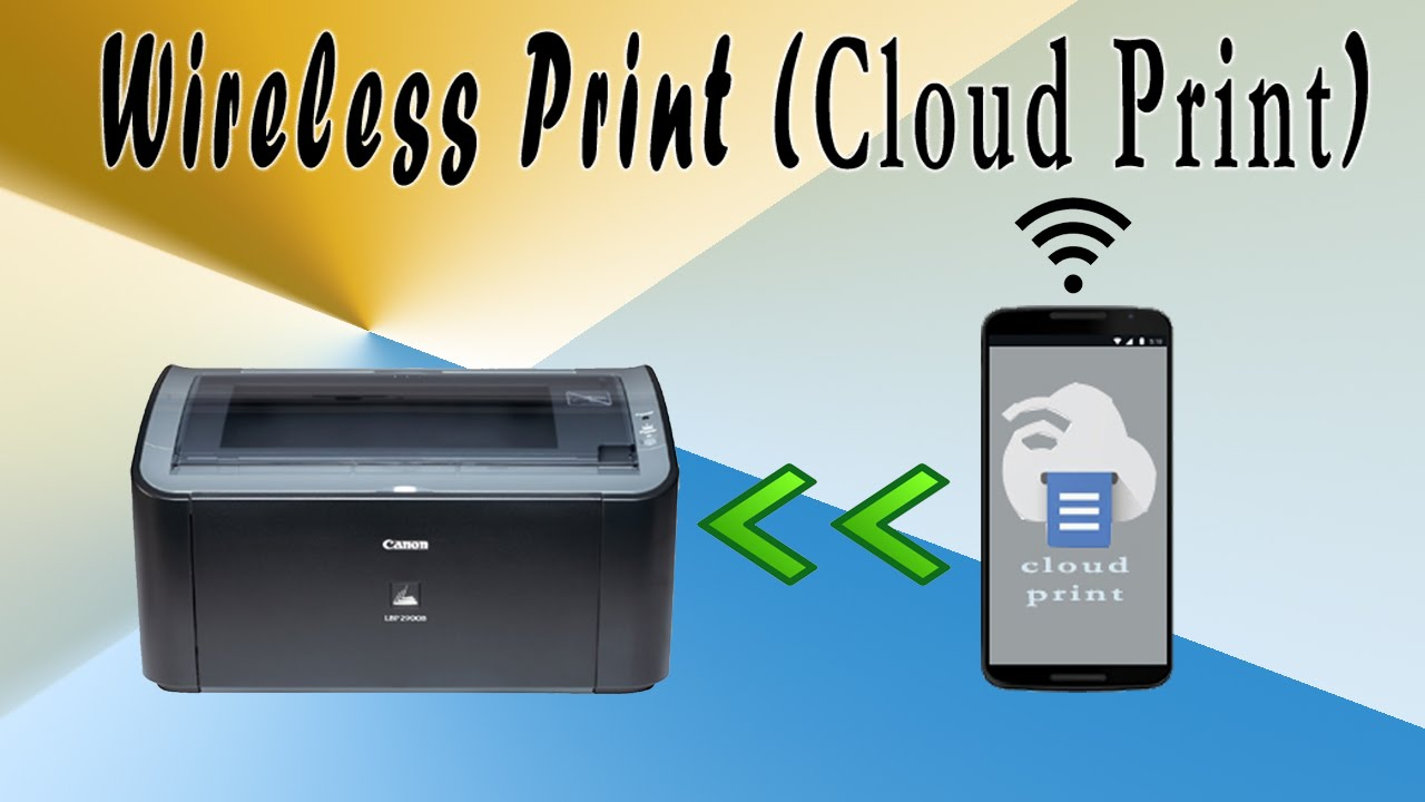 how to use cloud print in mobile