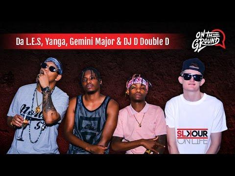 Download On The Ground: DJ D Double D, Da LES, Gemini Major & Yanga In Studio