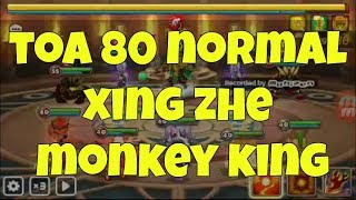Summoners War - Toa 80 Normal Monkey King wind Xing Zhe