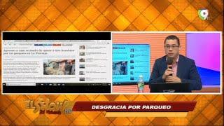 Graynmer Mendez comenta sobre la Una desgracia por un parqueo