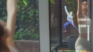 Working Out in the 'Mirror,' an Interactive Home Gym